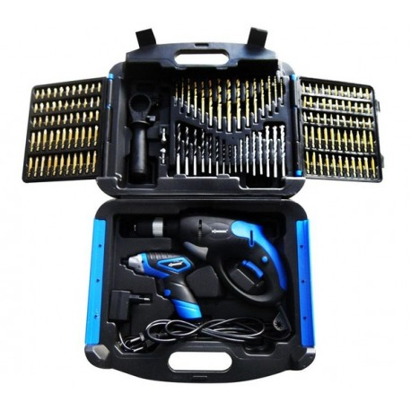 Taladradora a percusión 720 W + destornillador inalámbrico 4,8 V