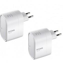 D-LINK Pack de 2 repetidores WiFi multimedia DIR-505