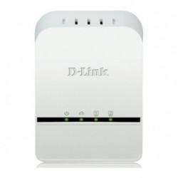 D-LINK Mini-adaptador 2 puertos CPL AL 500 Mbps DHP-328AV