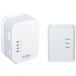 D-LINK Kit de arranque CPL Homeplug AV Wireless-N DHP-W311AV
