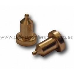 Electrodos de latón para collar Dogtra - cortos (par)