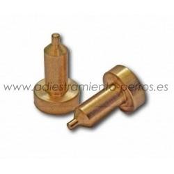 Electrodos de latón para collar Dogtra - largos (par)
