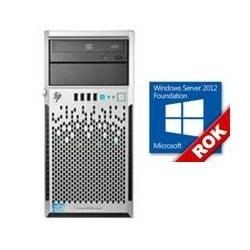 KIT SERVIDOR ML310 470065-800  XEON E3-1220V3/ 3.1GHZ/ 8GB DDR3/ 2X 1TB/ + FOUNDATION 2012