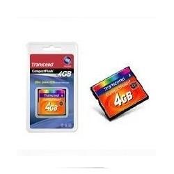 TARJETA MEMORIA COMPACT FLASH 4GB TRANSCEND