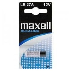 BLISTER MAXELL PILA ALCALINA 027A LR-27A