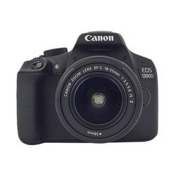 CAMARA DIGITAL REFLEX CANON EOS 1300D+18-55DC+75-300DC